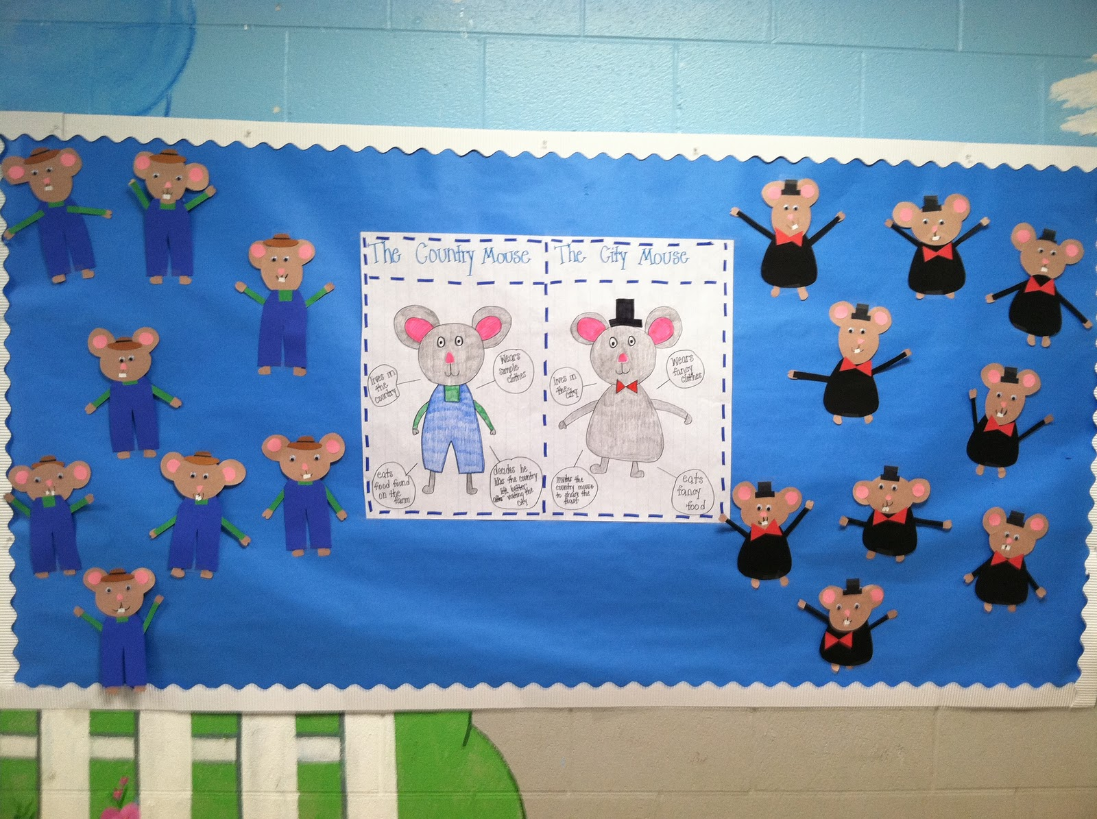 venn diagram bulletin board directv whole home dvr service wiring life in first grade last week pictures