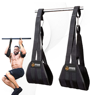 Hanging pull up straps for ab workouts, ab workout pull up bar