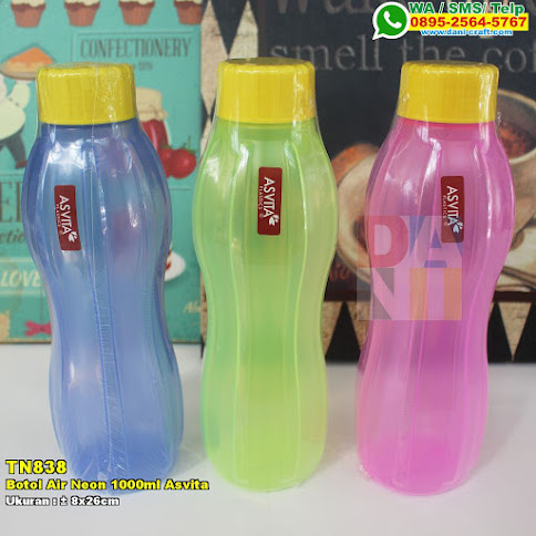 Botol Air Neon 1000ml Asvita