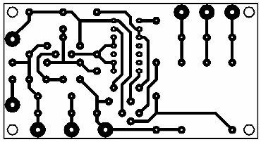 Printed Circuit Voice Operated Switch