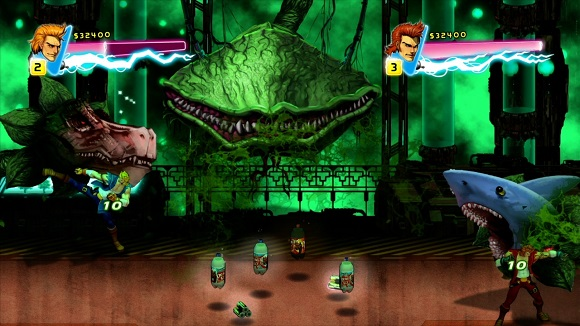Double-Dragon-Neon-PC-Game-Screenshot-Review-www.ovagames.com-5