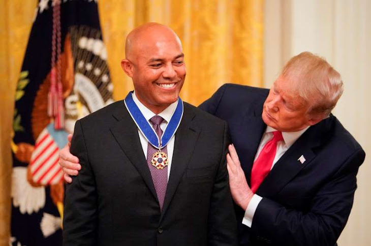 Mariano Rivera Receives Presidential Medal of Freedom