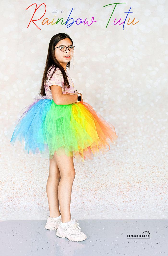 Isabela Pedrozo - Rainbow tutu