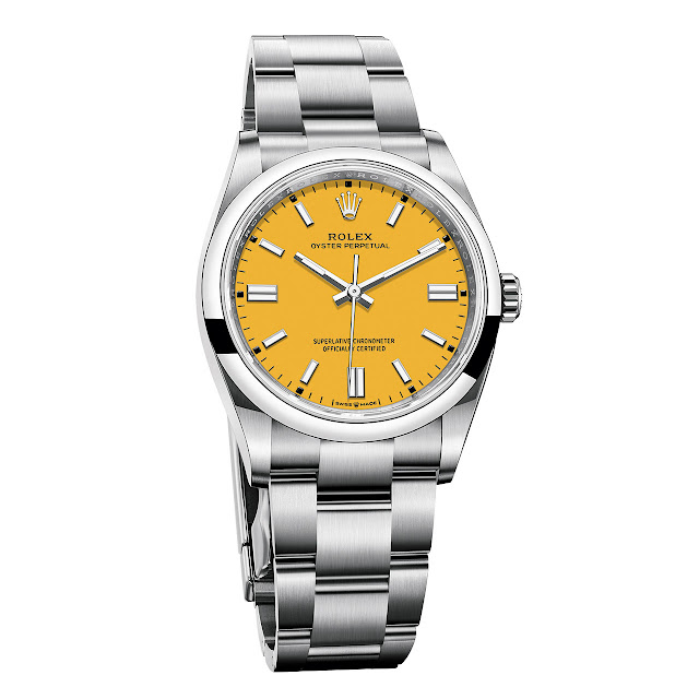 Rolex Oyster Perpetual 36 mm Yellow