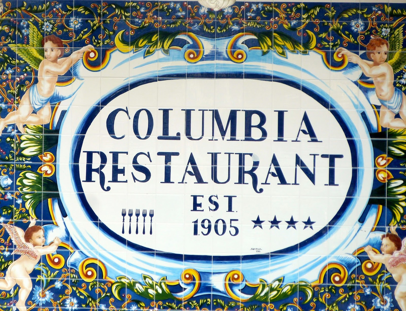 History, Flamenco, and Good Eats at Florida's Oldest Restaurant: A Review of The Columbia, Ybor City, Florida | CosmosMariners.com