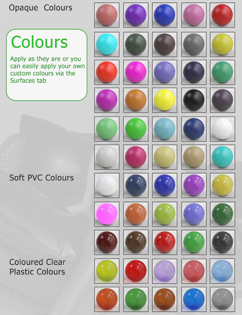 E1 Fantastic Plastic - Iray Synthetic Shader Presets for Daz Studio