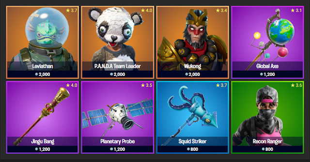 Fortnite Item Shop November 20, 2019