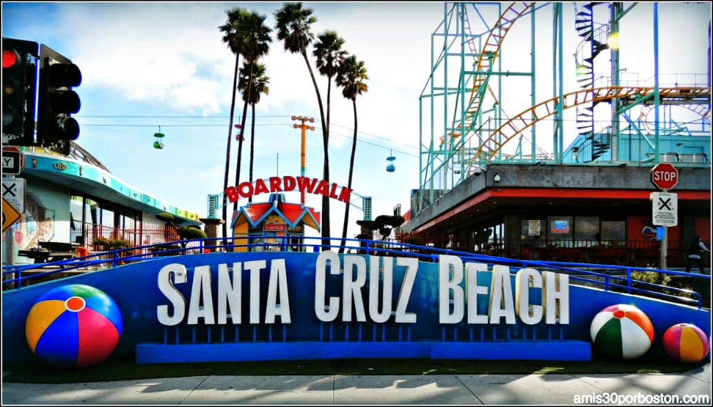 Viaje a California: Santa Cruz