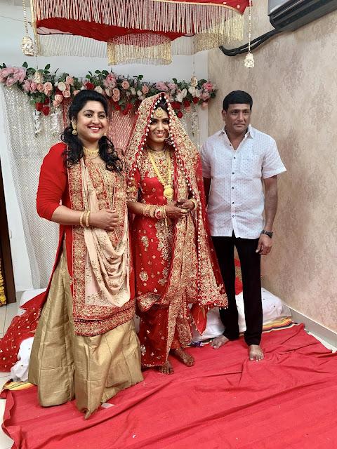 Sana Son Anwar and Sameera Wedding