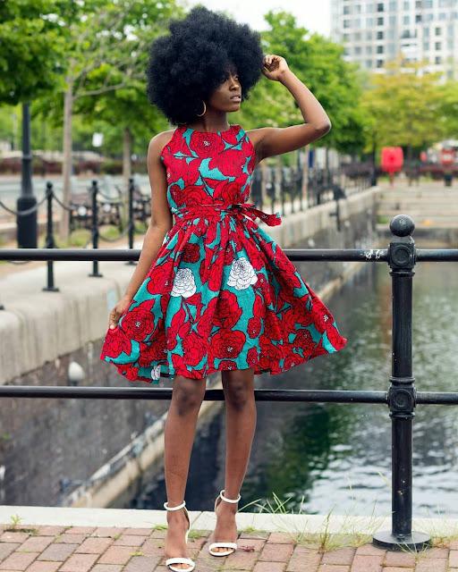 2019 Beautiful Slaying Ankara Short Gown Styles