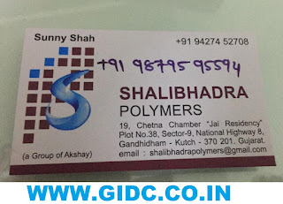 SHALIBHADRA POLYMERS - 9427452708 9879595594