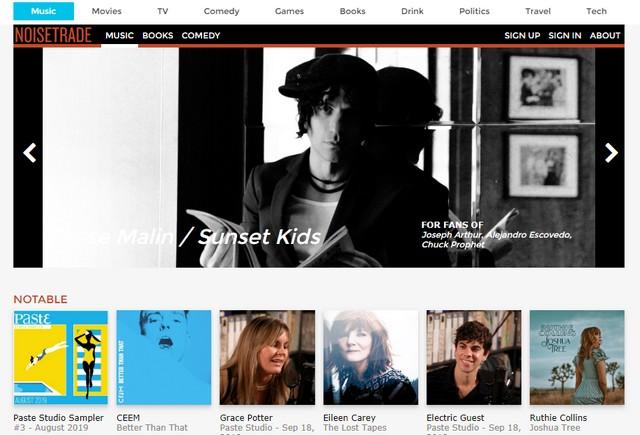 أفضل موقع مجاني لتنزيل الموسيقى بشكل قانوني