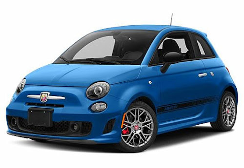 Fiat 500 Abarth LASER BLUE METALLIC
