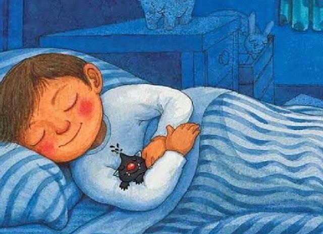 Gambar Kartun Pria Tidur