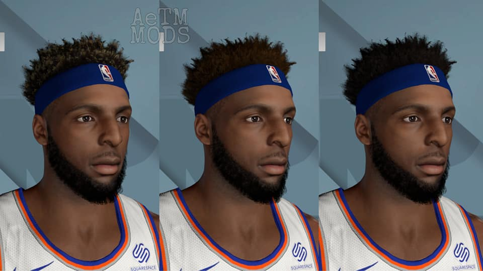Mitchell Robinson Cyberface and BOdy Model 3 Versions by AeTm [FOR 2K21]