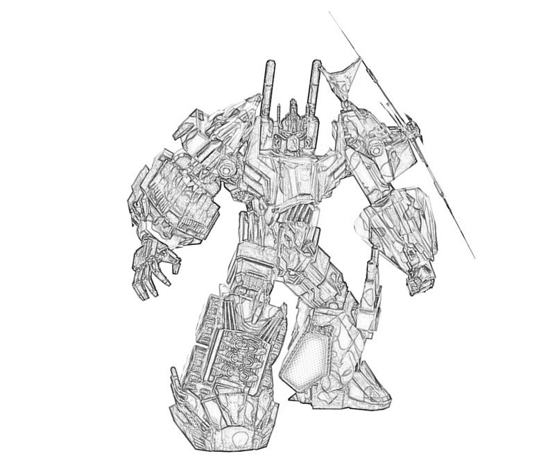 transformers cybertron coloring pages - photo#6