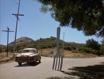 An actual fork in the road - from the first Muppet movie