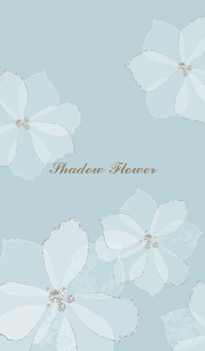 Shadow Flower BLUE for world