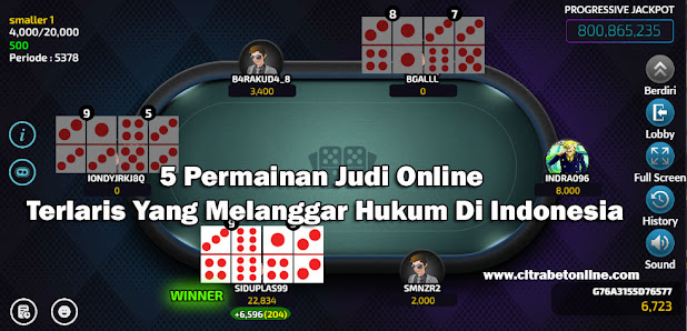 citrabetonline.com - Dalam Artikel ini, kita akan membahas daftar permainan judi online apa saja yang melanggar hukum di Indonesia.