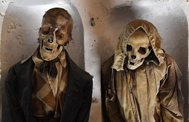 Visit the dark land for the dead in Italy