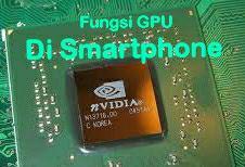 fungsi GPU di smartphone