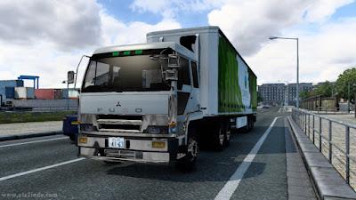 Traffic Fuso TG ETS2 v1.40 - 1.41