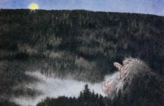a Theodor Kittelsen children's book illustration