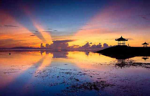 Pantai Sanur di Bali