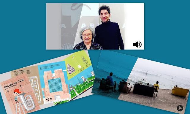 Obra Aberta – Recomendações de leituras | Livro de atividades para os mais novos | Garagem Sul – O Mar É a Nossa Terra
