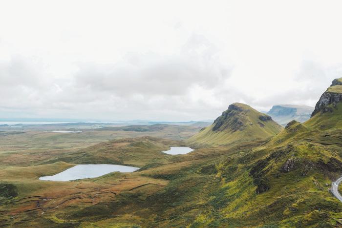 Randonnée au Quiraing sur l'île de Skye en Ecosse