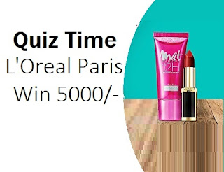 Amazon L'Oreal Quiz Time Contest Answer Today