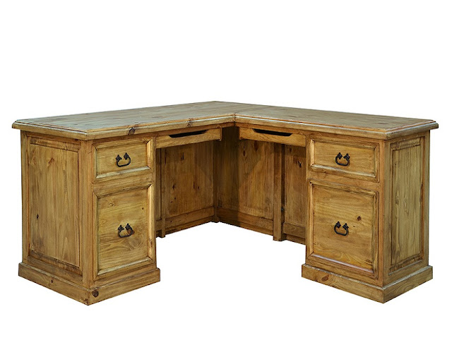 best buy corner rustic mile office furniture for sale