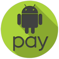 android pay colorful button