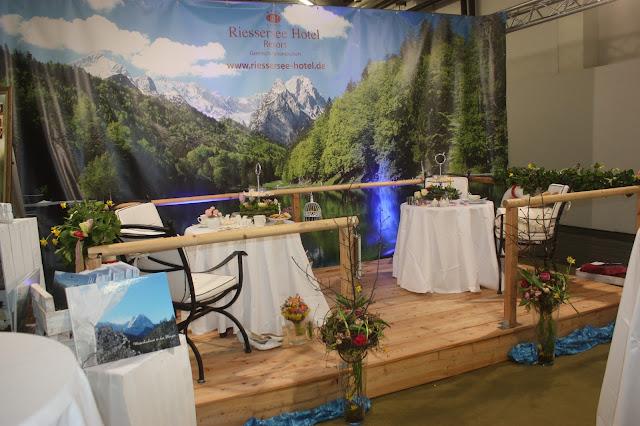 Hochzeitstage München 2017 AVR MOC Stand Riessersee Hotel Garmisch-Partenkirchen, wedding fair Munich 2017