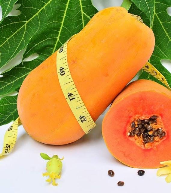 Tác dụng giảm cân của quả đu đủ