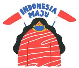 gambar animasi gif indonesia maju hut ri 75