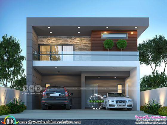 2210 sq. ft. contemporary home design