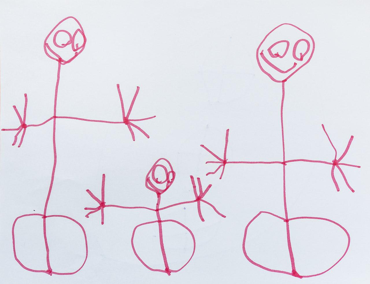 'stick family portrait' • montréal © marc montebello all rights reserved