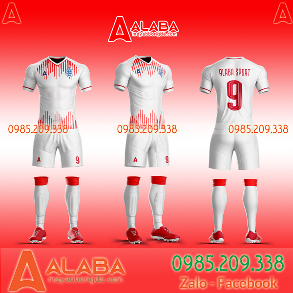 Áo bóng đá Anh tự thiết kế