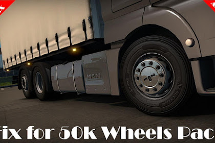 Fix For 50k Wheels Pack ETS2 1.36.X