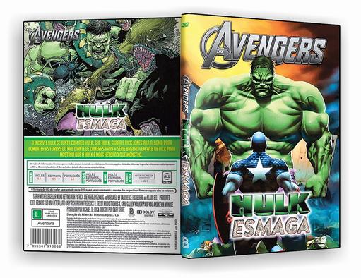 DVD-R Hulk Esmaga – OFICIAL