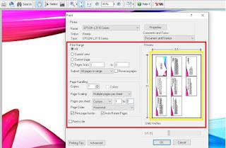 Print PPT 9 Slide Full Kertas