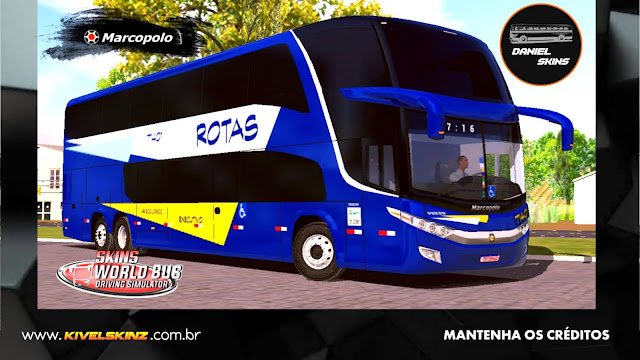 PARADISO G7 1800 DD 6X2 - VIAÇÃO ROTAS DO TRIÂNGULO