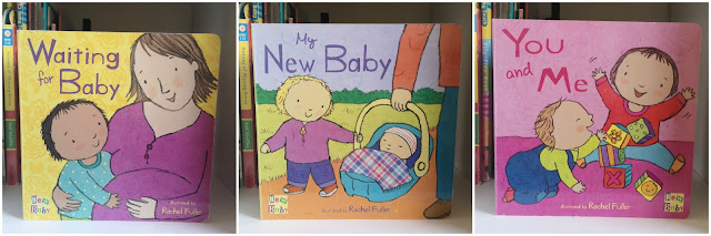 A picture of the Rachel Fuller Baby Books