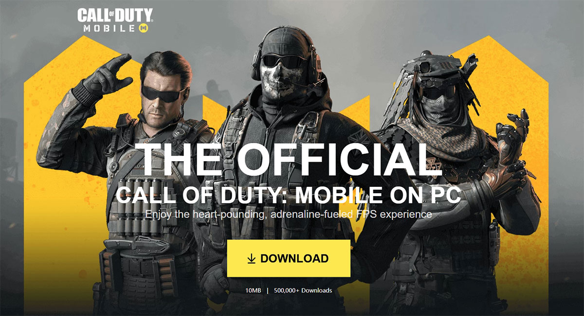 كيف تلعب لعبة Call of Duty : Mobile على حاسوبك