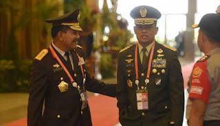 Panglima TNI Gatot Nurmantyo : Kami dan Polri Sadar Tak Mau Lagi Diobok-obok Siapapun !