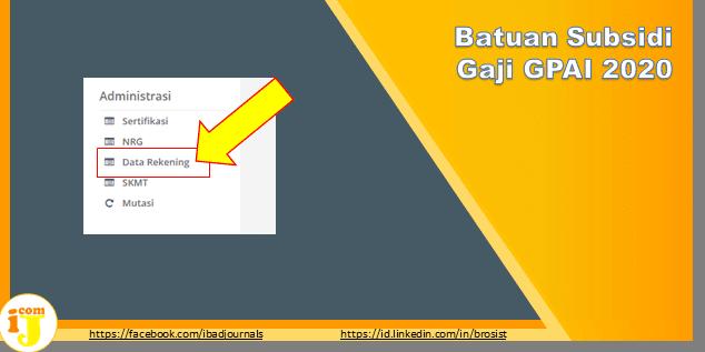 Batuan Subsidi Gaji GPAI 2020