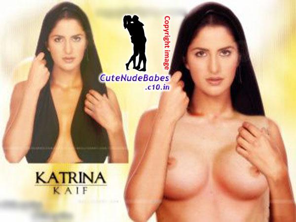 Celebrity Hollywood Katrina Kaif Half Nude Showing Her -1138