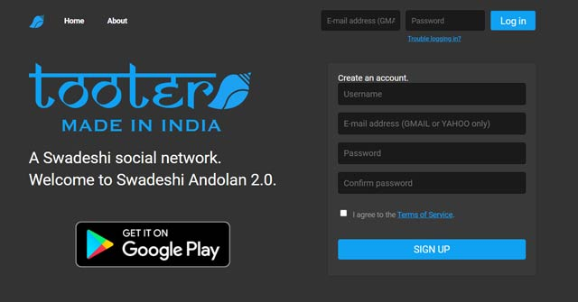 How to create a new account on Tooter? | An Indian alternative of Twitter Social media