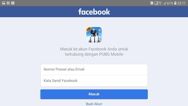 Cara Menautkan Akun PUBG Mobile Dengan Facebook 20